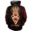 3D All Over Printed Gemini Zodiac T Shirt Hoodie 221203