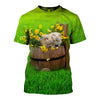 3D All Over Printed Guinea Pig T Shirt Hoodie 171201