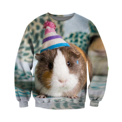 3D All Over Printed Guinea Pig T Shirt Hoodie 171202