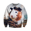 3D All Over Printed Guinea Pig T Shirt Hoodie 171206