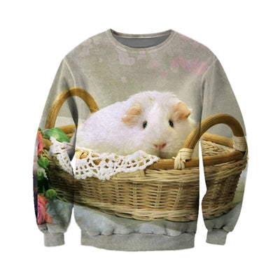 3D All Over Printed Guinea Pig T Shirt Hoodie 171207