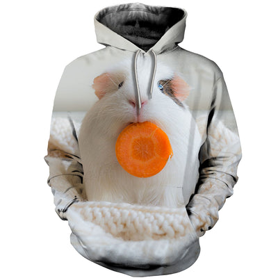 3D All Over Printed Guinea Pig T Shirt Hoodie 171209