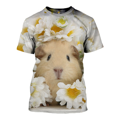 3D All Over Printed Guinea Pig T Shirt Hoodie 1712013