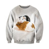3D All Over Printed Guinea Pig T Shirt Hoodie 1712015