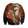 3D All Over Printed Giraffe T Shirt Hoodie 26121