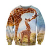 3D All Over Printed Giraffe T Shirt Hoodie 261214