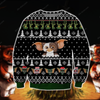Gremlins KNITTING PATTERN 3D PRINT UGLY CHRISTMAS SWEATER