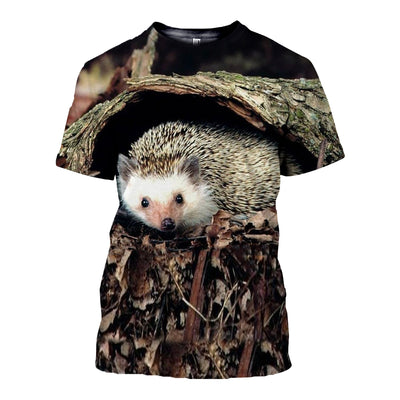 3D All Over Printed Hedgehog Clothes 12101