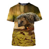 3D All Over Printed Hedgehog Clothes 12104