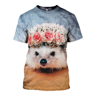 3D All Over Printed Hedgehog Clothes 12105
