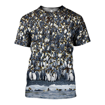 3D All Over Printed Penguins Clothes 124