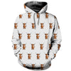 3D All Over Printed Highland Cattle T Shirt Hoodie 191201