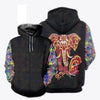 HIPPIE ELEPHANT 3D FULL OVER PRINTED CLOTHES