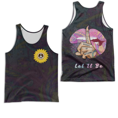 HIPPIE LET IT BE 3D FULL OVER PRINTED CLOTHES