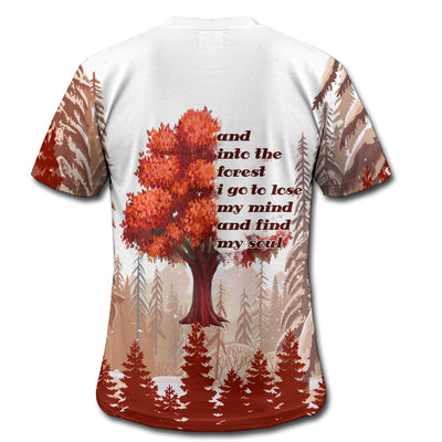 HIPPIE INTO THE FOREST 2 3D FULL OVER PRINTED CLOTHES