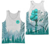 HIPPIE INTO THE FOREST 4 3D FULL OVER PRINTED CLOTHES