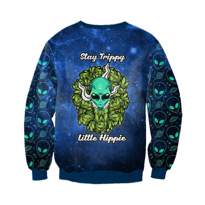 STAY TRIPPY LITTLE HIPPIE 1 3D FULL OVER PRINTED CLOTHES