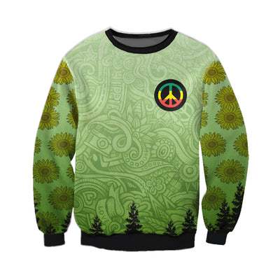 HIPPIE PEACE CAMPING & BEAR 3 3D FULL OVER PRINTED CLOTHES