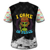 HIPPIE I COME IN PEACE 3D FULL OVER PRINTED CLOTHES