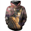 3D ALL OVER BENGAL CAT HOODIE