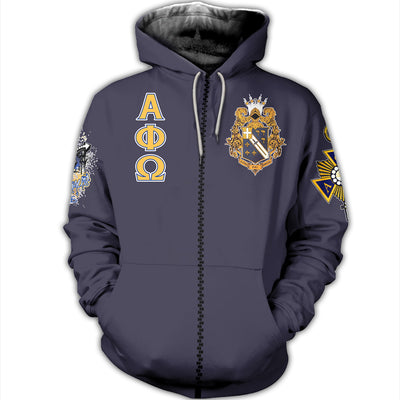 3D ALL OVER PRINT ALPHA PHI OMEGA CLOTHING 070720201