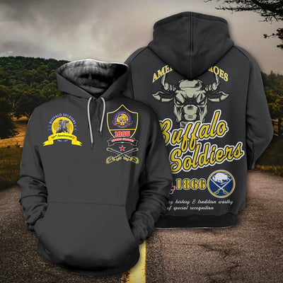 3D ALL OVER PRINT BUFFALO SOLDIERS CLOTHING 290620203