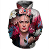 3D FULL OVER PRINTED FAMOUS PAINTER FRIDA KAHLO