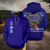 3D FULL OVER PRINTED ZETA PHI BETA T SHIRT