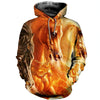 3D All Over Printed Horse T Shirt Hoodie 1812011