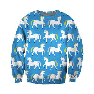 3D All Over Printed Horse T Shirt Hoodie 1812012