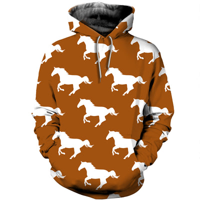 3D All Over Printed Horse T Shirt Hoodie 1812018