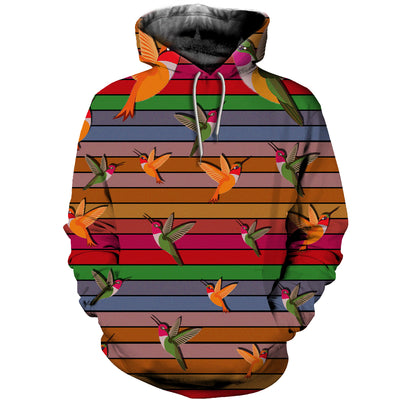 3D All Over Printed Hummingbirds T Shirt Hoodie 27220195