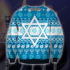 Hanukkah KNITTING PATTERN 3D PRINT UGLY CHRISTMAS SWEATER