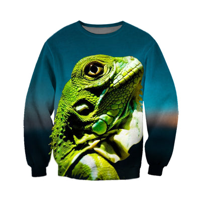 3D All Over Printed Iguana T Shirt Hoodie 070109