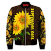 SEPTEMBER GIRL SUNFLOWER 3D FULL OVER PRINTED CLOTHES