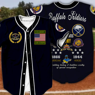 Buffalo Soldiers Baseball Jersey 1282020