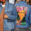 FRIDA KAHLO DENIM JACKET 30