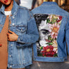 FRIDA KAHLO DENIM JACKET 34