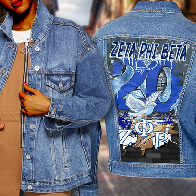 ZETA PHI BETA DENIM JACKET 2