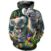 3D All Over Printed Koala T Shirt Hoodie 191212