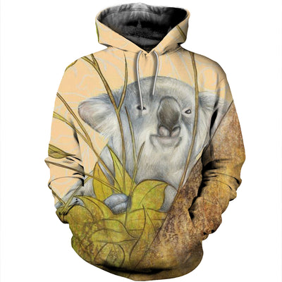 3D All Over Printed Koala T Shirt Hoodie 191213