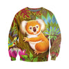 3D All Over Printed Koala T Shirt Hoodie 191216
