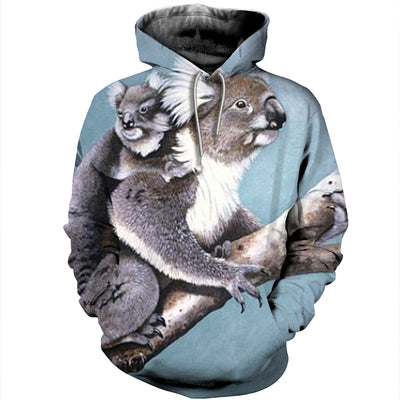 3D All Over Printed Koala T Shirt Hoodie 19122