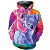 3D All Over Printed Koala T Shirt Hoodie 191223