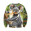 3D All Over Printed Koala T Shirt Hoodie 191214
