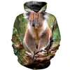 3D All Over Printed Koala T Shirt Hoodie 19126