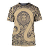 3D All Over Printed Leo Zodiac Clothes 12105