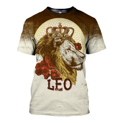 3D All Over Printed Leo Zodiac Clothes 12106