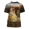 3D All Over Printed Leo Zodiac T Shirt Hoodie 221202