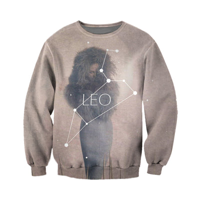 3D All Over Printed Leo Zodiac T Shirt Hoodie 221204